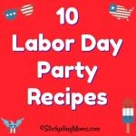 10 Labor Day Party Recipes