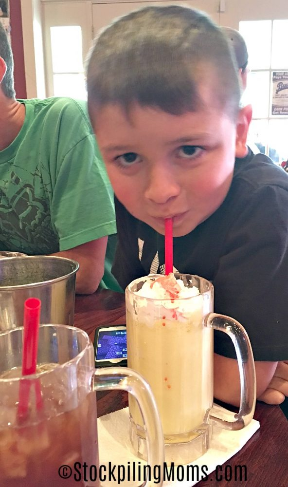 Bub's Burgers and Ice Cream is a great place to eat in Indiana!