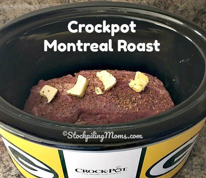 Crockpot Montreal Roast is a tasty, low carb slow cooker recipe!