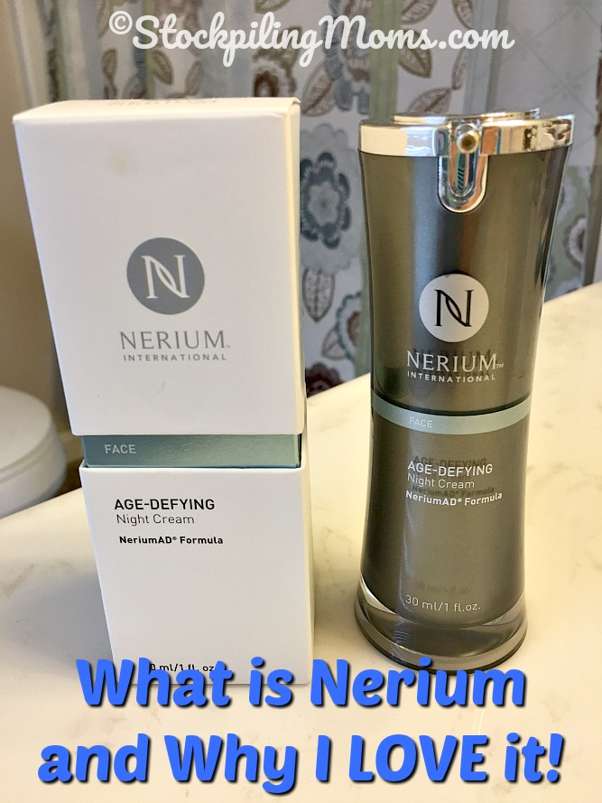 What is Nerium and Why I LOVE it! All natural, plant based skin care line.