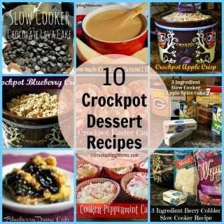 10 Crockpot Dessert Recipes