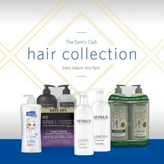 Stock up on Hair Products at Sam's Club