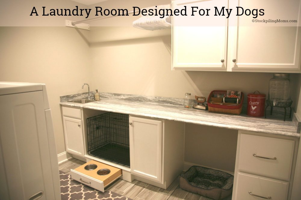 A Laundry Room Designed For My Dogs