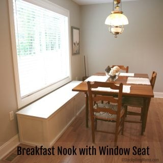 Breakfast Nook with Window Seat