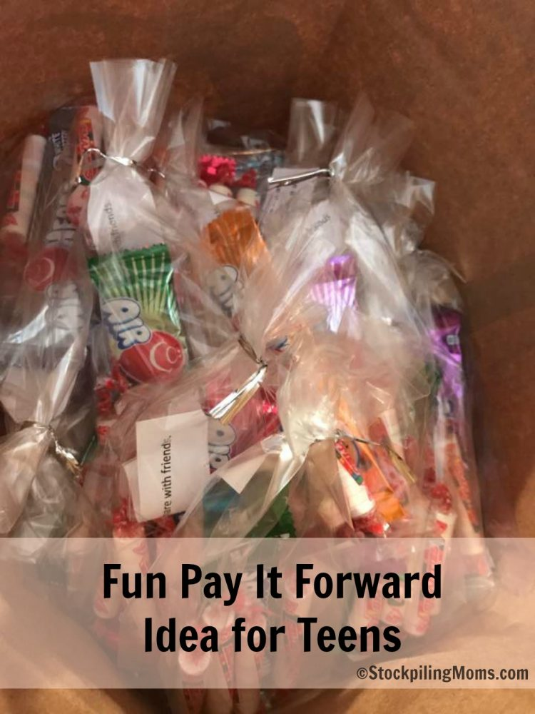 Hallmark Care Enough Challenge - Fun Pay It Forward Idea for Teens