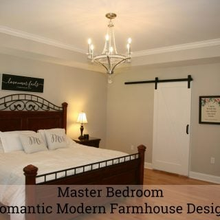 Master Bedroom – Romantic Modern Farmhouse Design