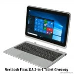 Nextbook Flexx 11A 2-in-1 Tablet Is Perfect For On The Go & Giveaway