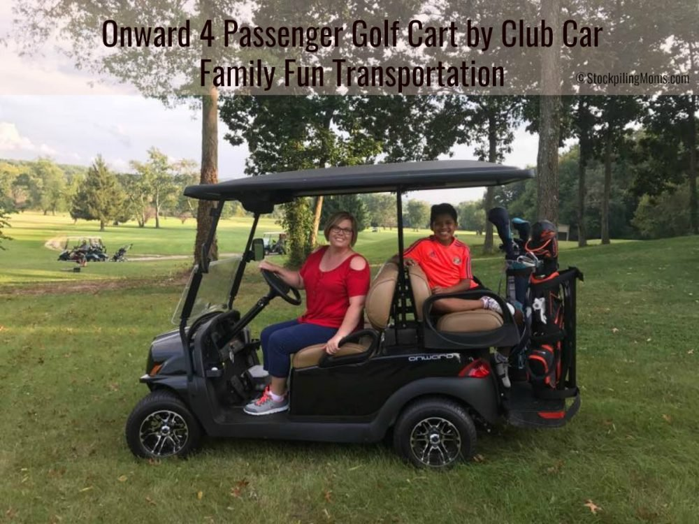 Onward 4 Passenger Golf Cart By Club Car Family Fun Transportation