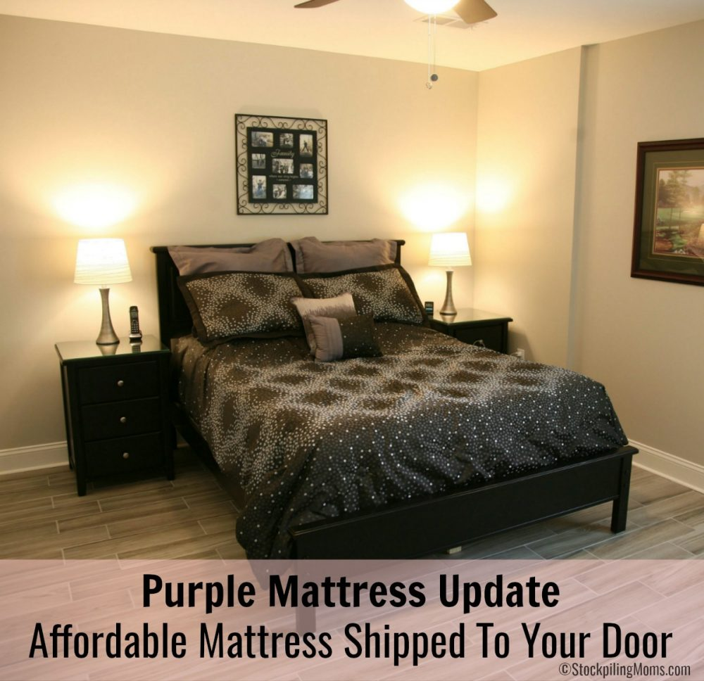 Purple Mattress Update - Affordable Mattress Shipped To Your Door