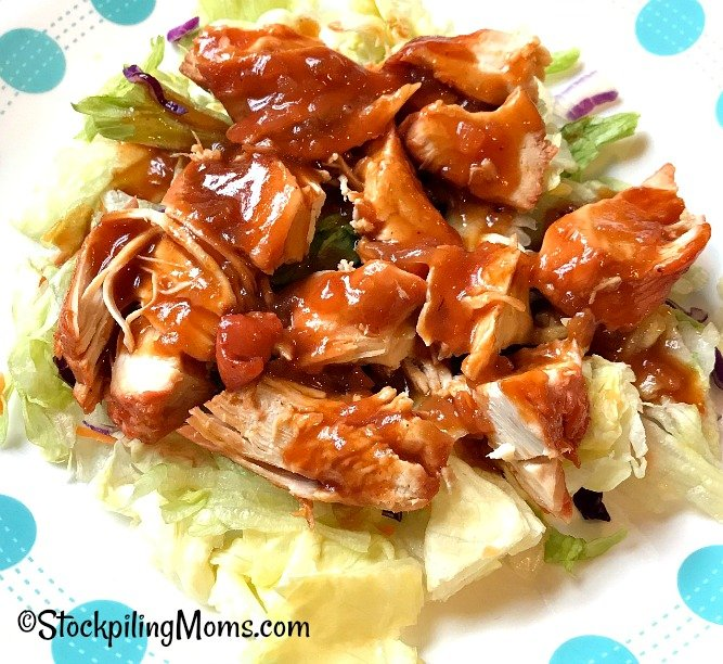 Slow Cooker French Chicken is an easy freezer meal recipe that you can serve over salad or rice!