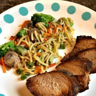 Slow Cooker Honey Soy Pork Tenderloin Freezer Meal