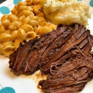 Slow Cooker Texas Roadhouse Pot Roast Freezer Meal Recipe