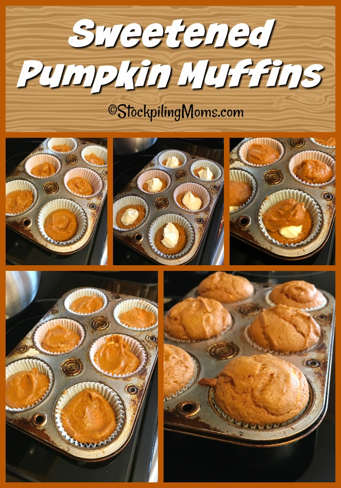 Sweetened Pumpkin Muffins is my new favorite pumpkin recipe for this Fall!