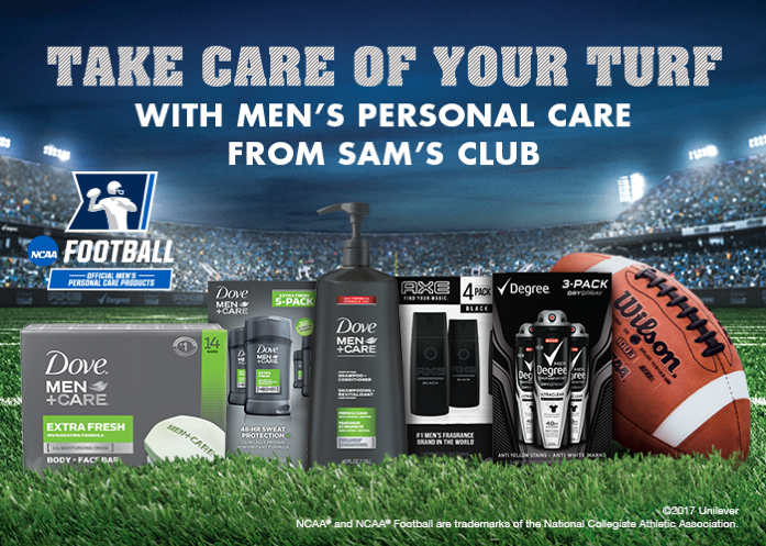 Take Care of Your Turf With Men's Personal Care From Sam's Club
