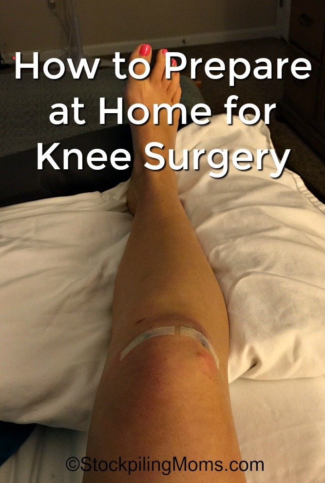 How to Prepare at Home for Knee Surgery