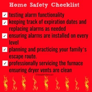 Fire Prevention Month – Home Safety Checklist