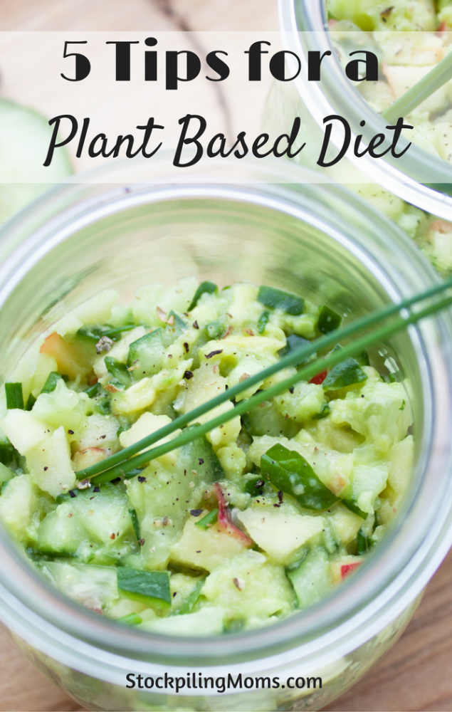 5 Tips for a Plant Based Diet