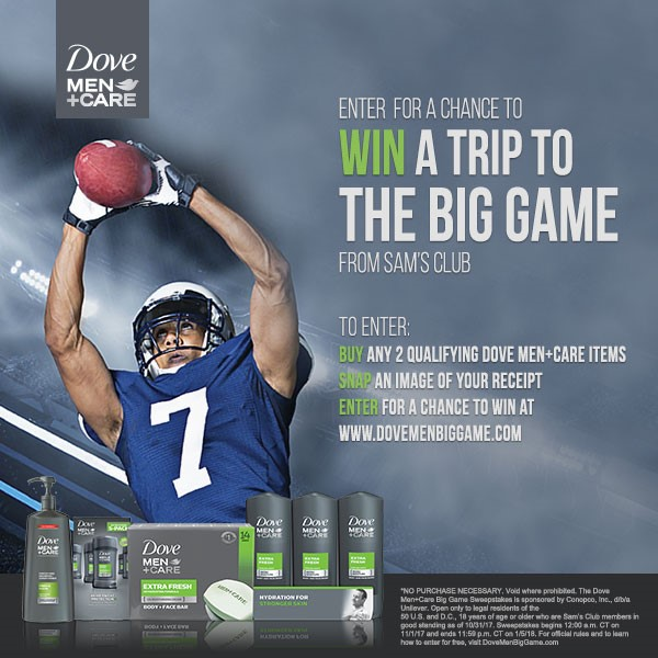 Enter for a chance to win a trip to the big game!