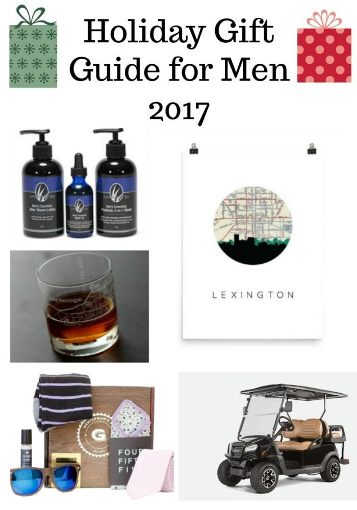Holiday Gift Guide For Men 2017
