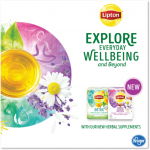 Lipton introduces wellness teas that are perfect for Fall