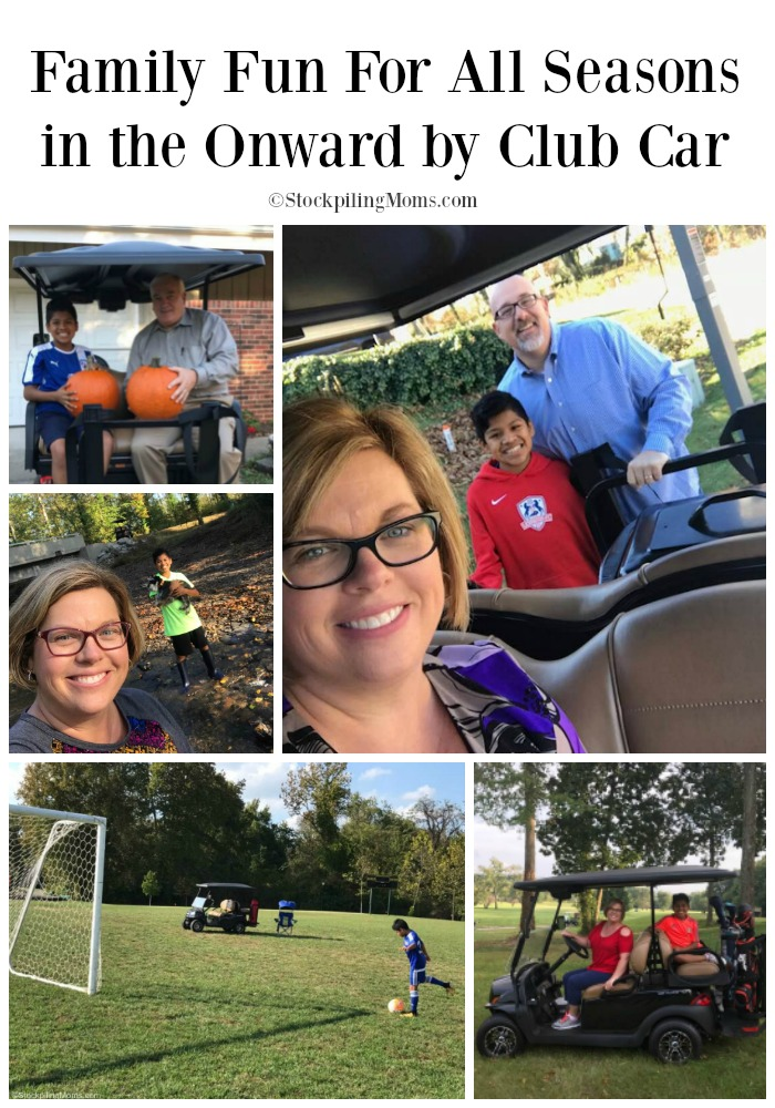 Family Fun For All Seasons in the Onward by Club Car