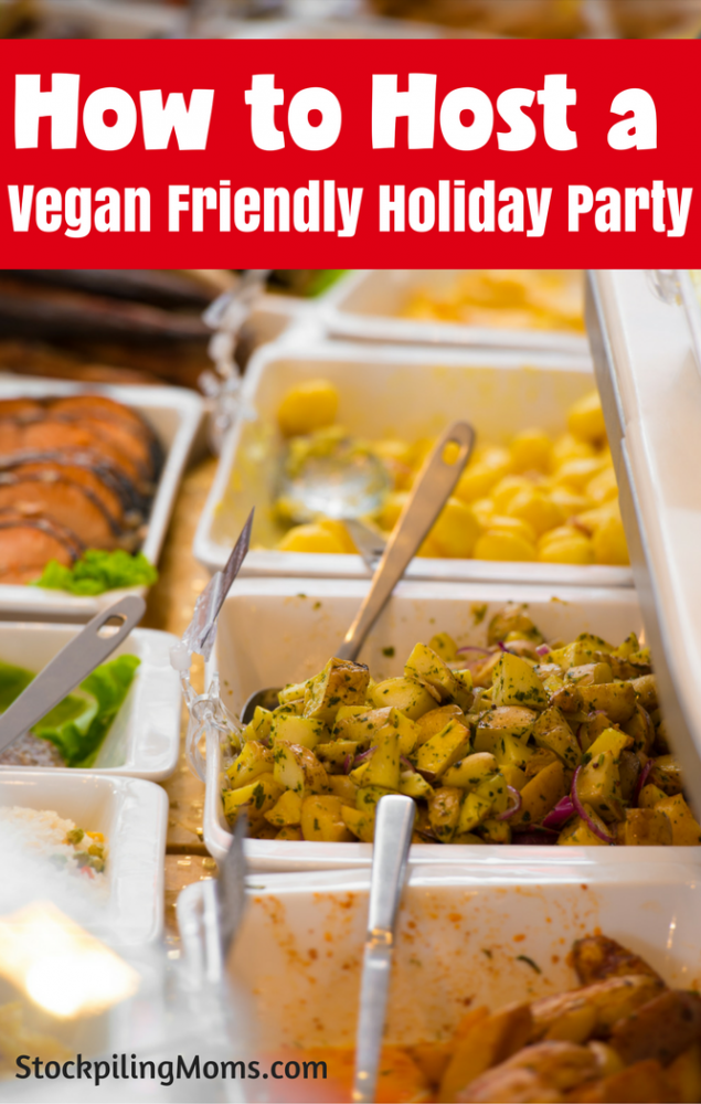 How to Host a Vegan Friendly Holiday Party