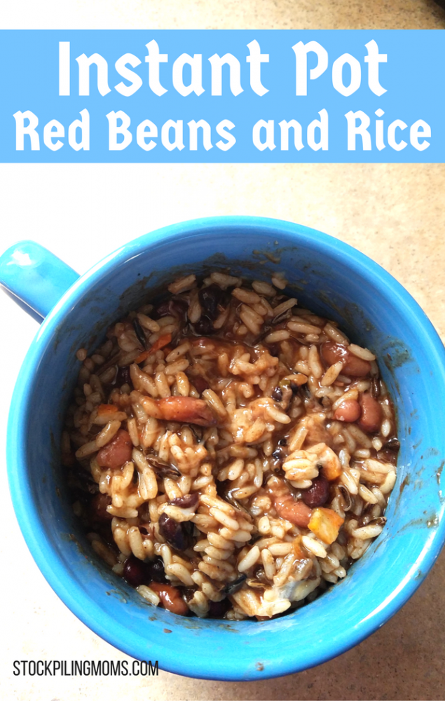 how to cook red kidney beans in instant pot