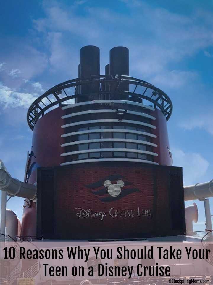 10 Reasons Why You Should Take Your Teen on a Disney Cruise