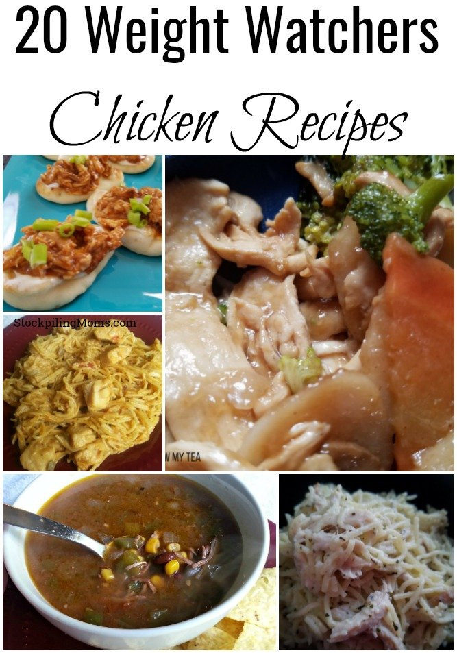 Check out this list of 20 Weight Watchers Chicken Recipes for a great way to update your meal plan this week.