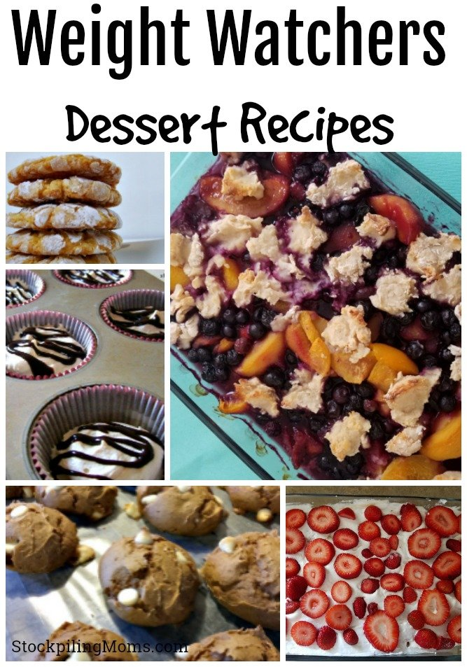 Don't miss our list of Weight Watchers Dessert Recipes! These are great for those diet friendly delicious treats!