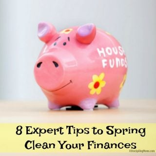 8 Expert Tips to Spring Clean Your Finances