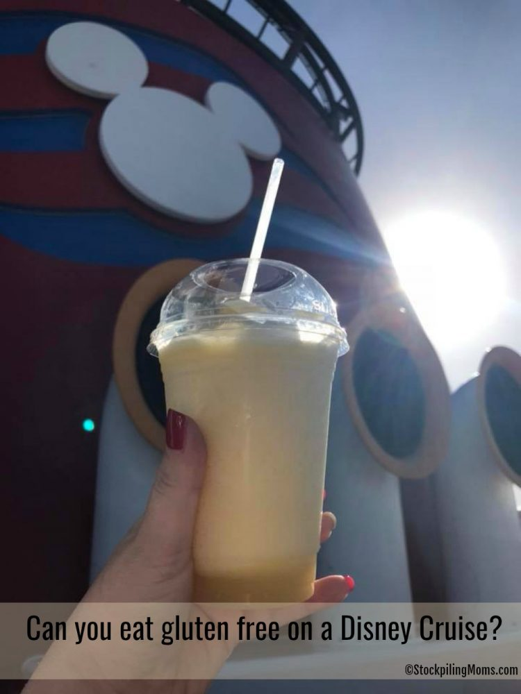 Can you eat gluten free on a Disney Cruise?
