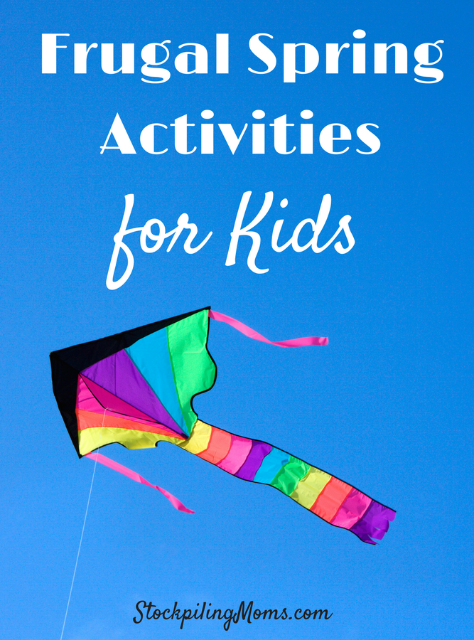 Frugal Spring Activities For Kids