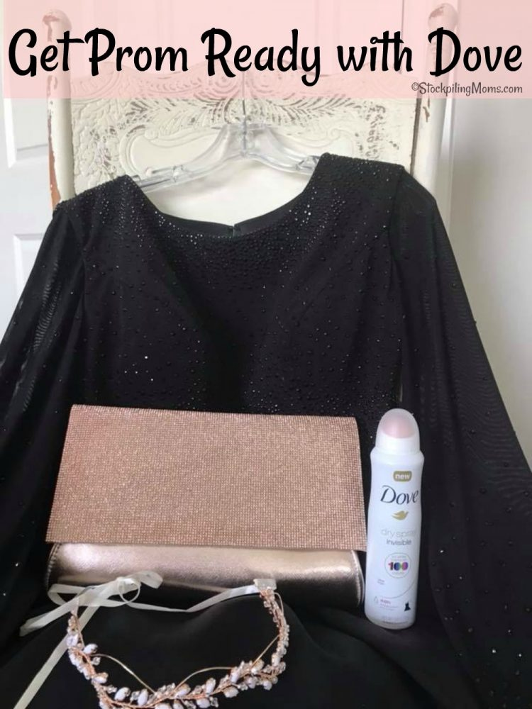 Get Prom Ready with Dove Dry Spray