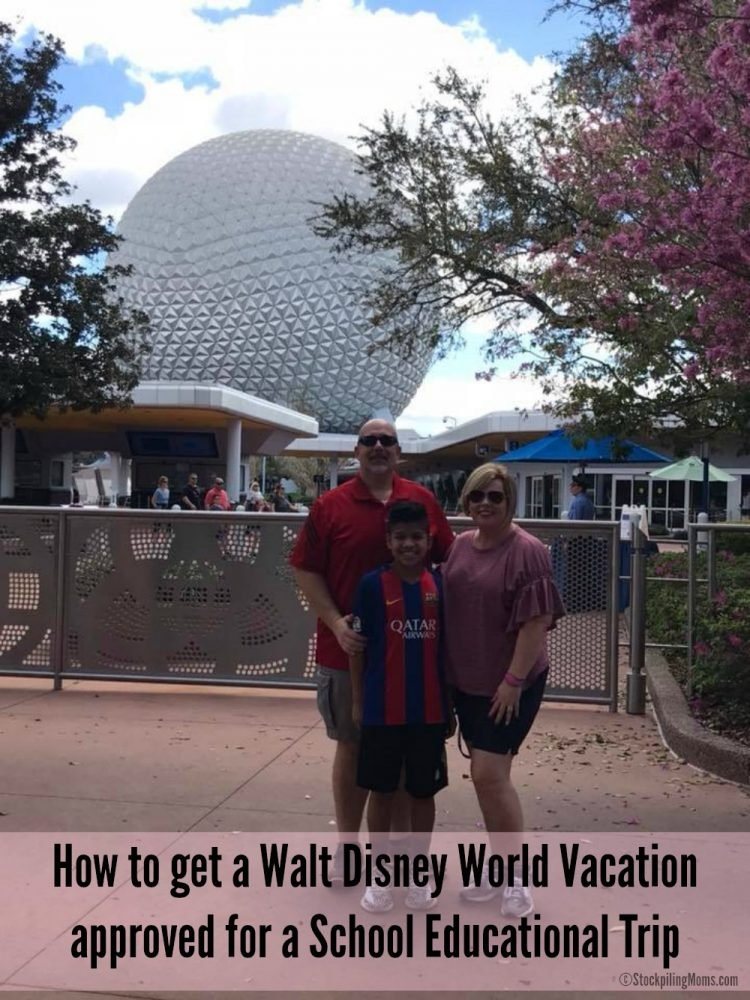 How to get a Walt Disney World Vacation approved for a School Educational Trip