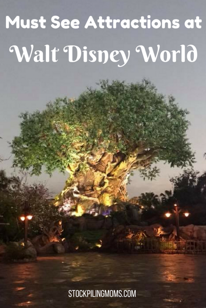 Must See Attractions at Walt Disney World. This is a list of attractions that you MUST see when you visit the parks.