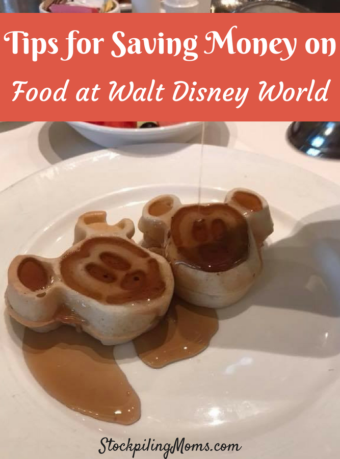 Tips for Saving Money on Food at Disney World