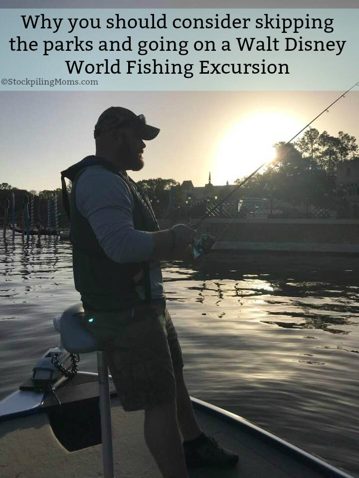 Why you should consider skipping the parks and going on a Walt Disney World Fishing Excursion