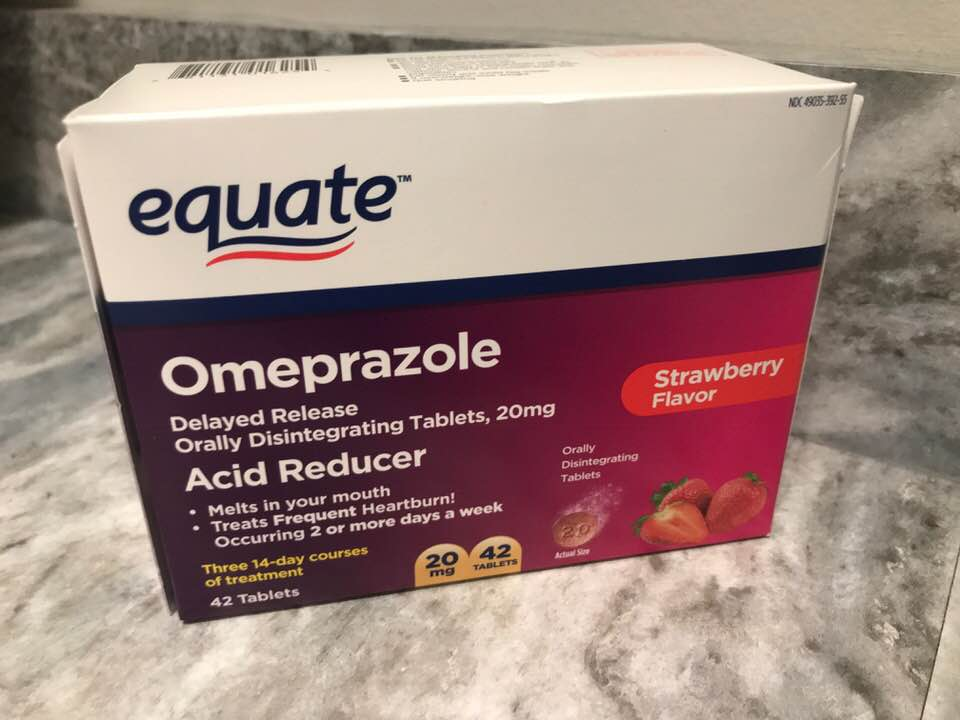 If you are a frequent heartburn sufferer, you will be excited about this new Equate Omeprazole Orally Disintegrating Tablet (ODT) that just launched at Walmart