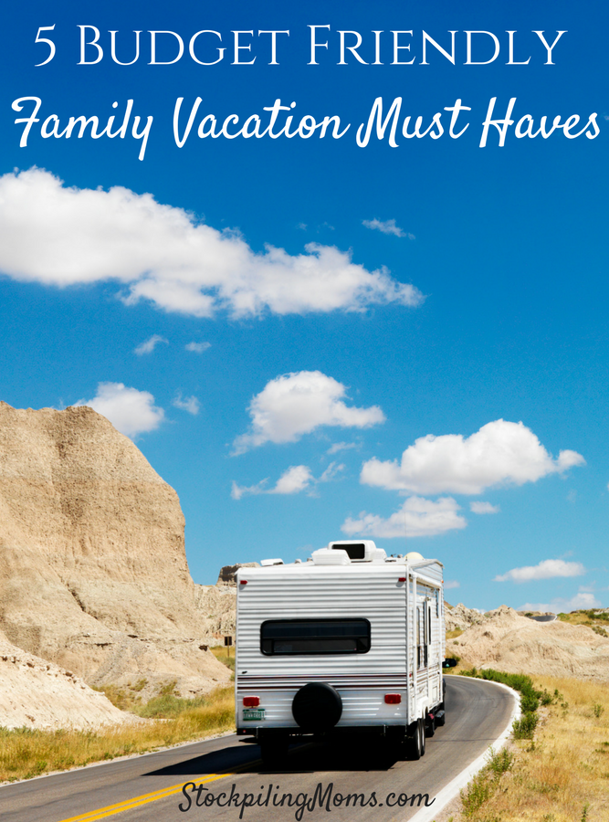 5 Budget Family Vacation Must Haves