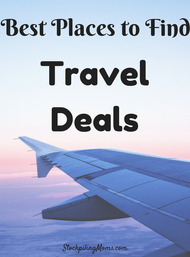 Best Places to Find Travel Deals