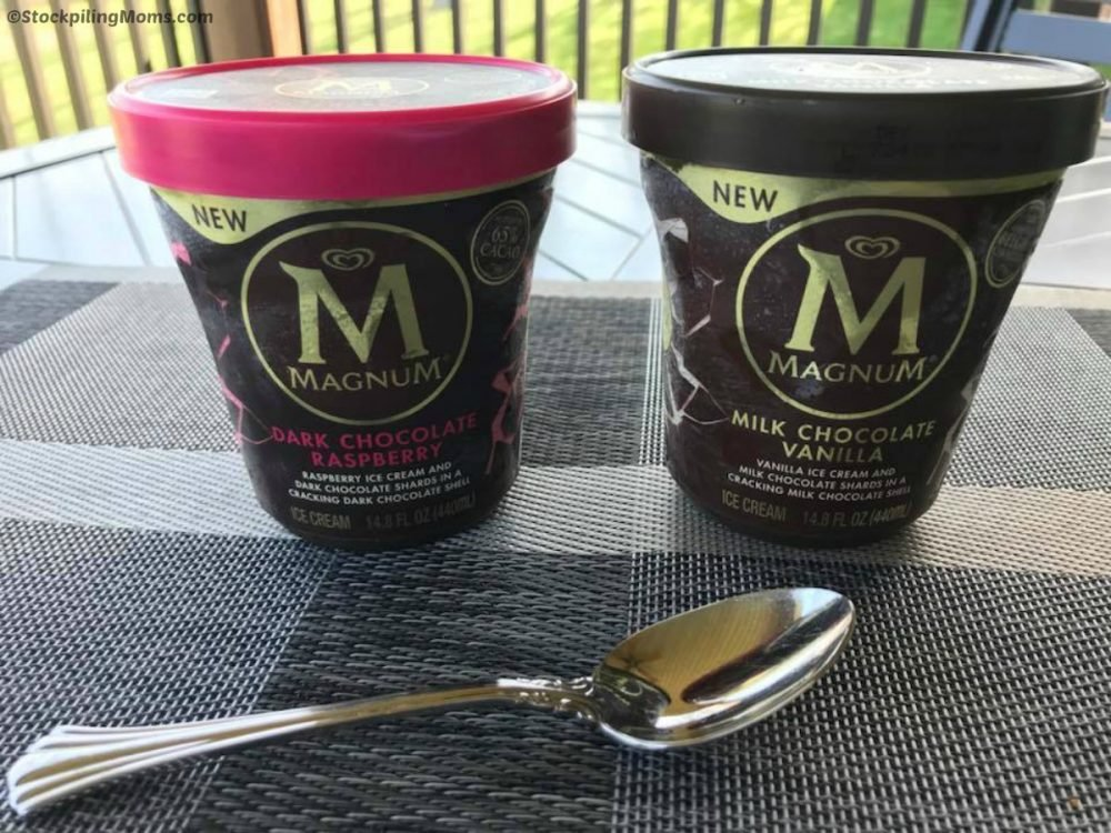 New Magnum Ice Cream Tubs are the perfect way to kick off summer