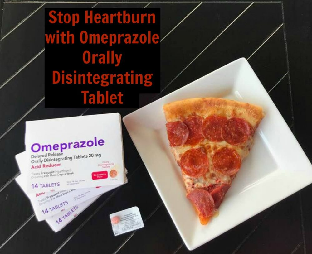 Omeprazole Orally Disintegrating Tablet - Heartburn Relief While On The Go