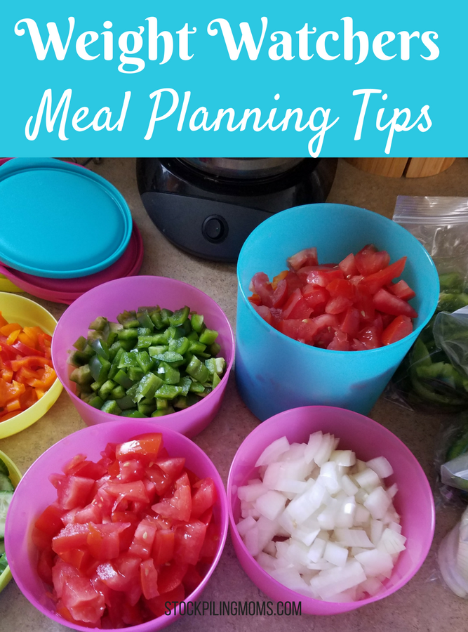 Weight Watchers Meal Planning Tips