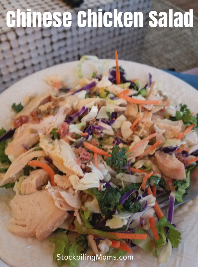 Chinese Chicken Salad Recipe that is weight watchers friendly!