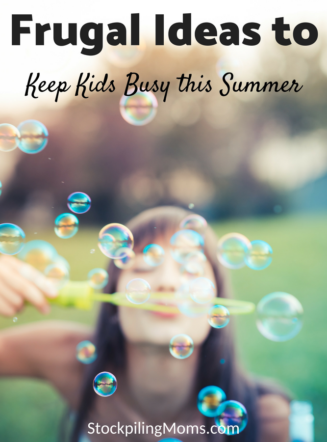 Ways to Keep Kids Busy This Summer Without Spending a Ton