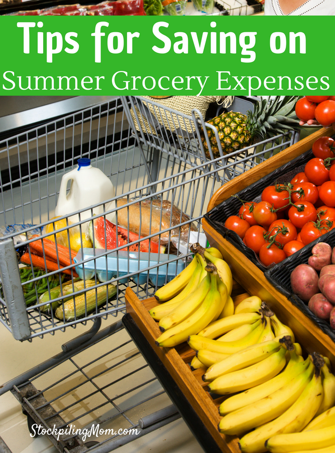 Tips for Saving on Summer Grocery Expenses