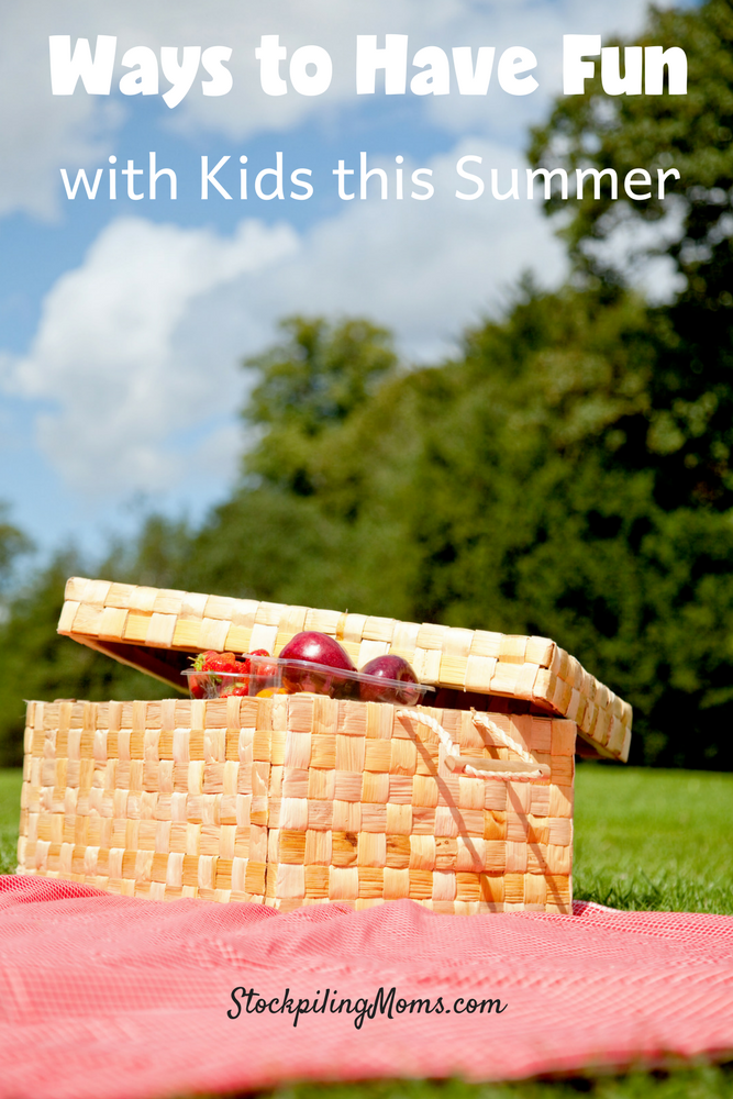 Ways to have fun with kids this summer!