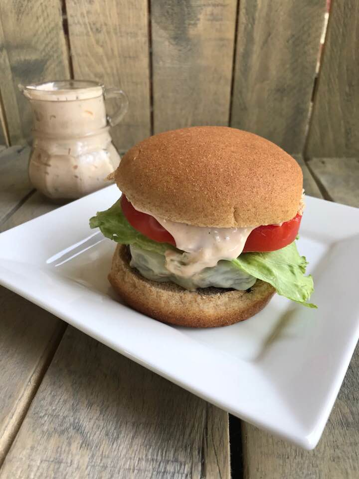 Best Ever Tasting Burger - With this topping you can't go wrong at your summer BBQ!