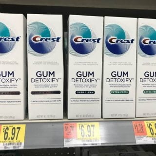 Crest Gum Detoxify – A great way to help prevent gum disease